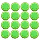 Geneice Refill 50pc Disc for Nerf Vortex Blaster Praxis Nitron Vigilon Proton Ammo Discs green