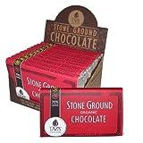 Taza Organic Stone Ground Chocolate Bars - 70% Dark (3 ounce) by Taza