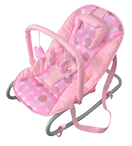 Cute Baby - Pink Rocker Fully Reclining Rocking Cradle Chair - From Newborn  sc 1 st  Amazon UK & Cute Baby - Pink Rocker Fully Reclining Rocking Cradle Chair ... islam-shia.org