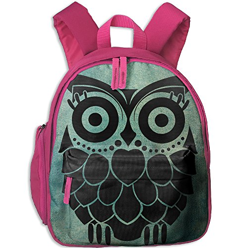 The Trendy Owl Children Oxford Cloth Shoulders Bag,Book Bag For Boys