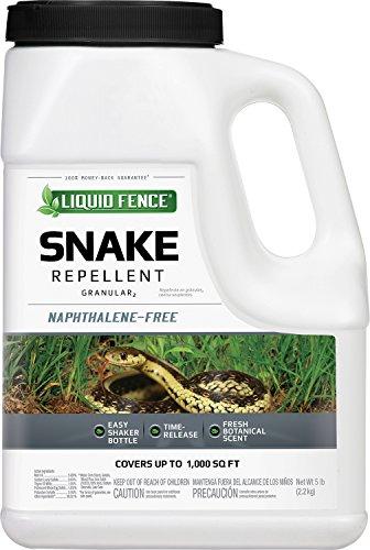 Liquid Fence HG-70260 Snake Repellent Granules, 5-Pound