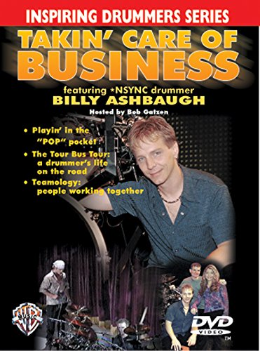 Inspiring Drummers: Takin' Care of Business (DVD) (Inspiring Drummers Series)