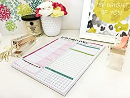 Bloom Daily Planners Weekly Planner Tear Off To Do Pad, 8.5x11-Inch