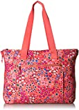 Vera Bradley Lighten Up Expandable Tote, coral meadow