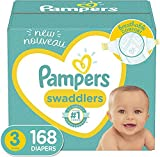 Baby Diapers Size 3, 168 Count - Pampers