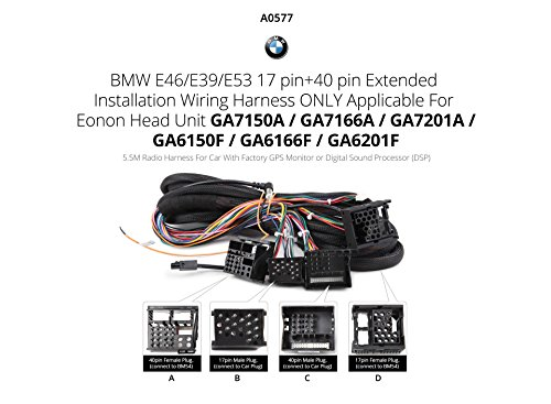 511nDv9DcaL eonon a0577 extended installation wiring harness for amazon co uk eonon d2208 wiring harness at gsmx.co