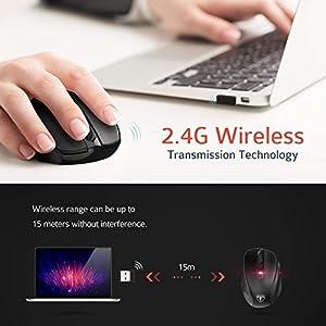 [Updated Version] Wireless Mouse, Patuoxun 2....