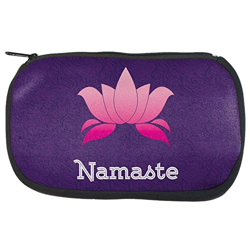 Namaste Lotus Flower Travel Bag by Old Glory