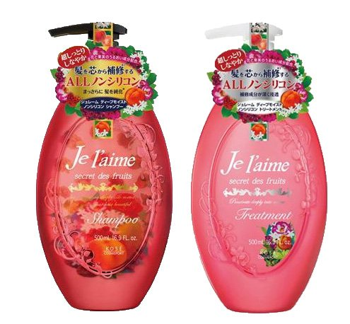 Juremu Deep Moist Shampoo & Treatment set each 500ml non-sil