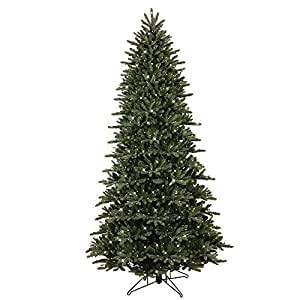 Amazon.com: GE 9 ft. Pre-Lit LED Just Cut Frasier Fir ...