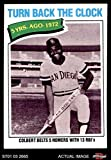 1977 Topps # 433 Turn Back The Clock Nate Colbert San Diego Padres (Baseball Card) Dean's Cards 7 - NM Padres