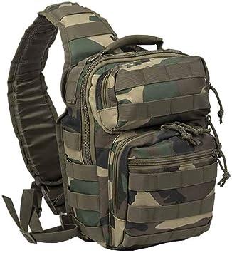 Mil-Tec US Assault Pack - Mochila de asalto (tamaño pequeño), color woodland, tamaño small: Amazon.es: Deportes y aire libre