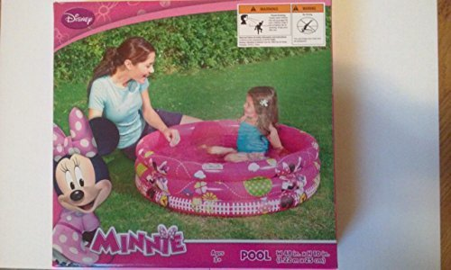 (Minnie Mouse W 48 In. By H 10 In. Inflatable Pool by)