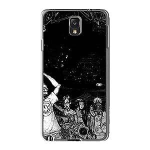 Anti-Scratch Hard Phone Cases For Samsung Galaxy Note3 (auE7439pBMZ) Custom Lifelike Foo Fighters Skin