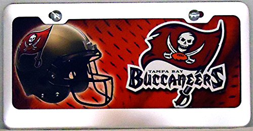"""1 , """" Tampa BAY Buccaneers """" , Metal Sign, Framed in a Chrome Metal Frame,,31a4.4&21a4.0"""