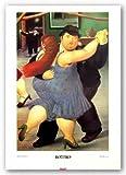 The Dancers von Fernando Botero Kunstdruck