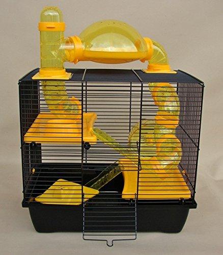 Jaula para roedores hámster jaula, Enano hámster jaula Rocky ...