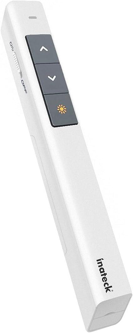 inateck WP1001 Wireless 2.4G Presenter PowerPoint Keynote Laser Pointer 20 Meter