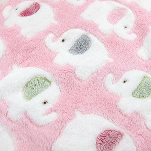 Alfie Pet by Petoga Couture - Abia Animal Blanket for Dogs and Cats - Color: Pink, Size: Large by Alfie (Image #7)