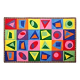 Sprogs SPG-FE604-44A-SO Shake It Up Rug (7' 6'' W x 12' L)