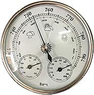 Almencla Termômetro, Barômetro, Higrômetro, Estação Meteorológica 3 em 1