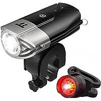 TaoTronics TT-HP007 LED Bike Lights Front & Back, 700 Lumens Bicycle Lights, Rechargeable Bike Light Set