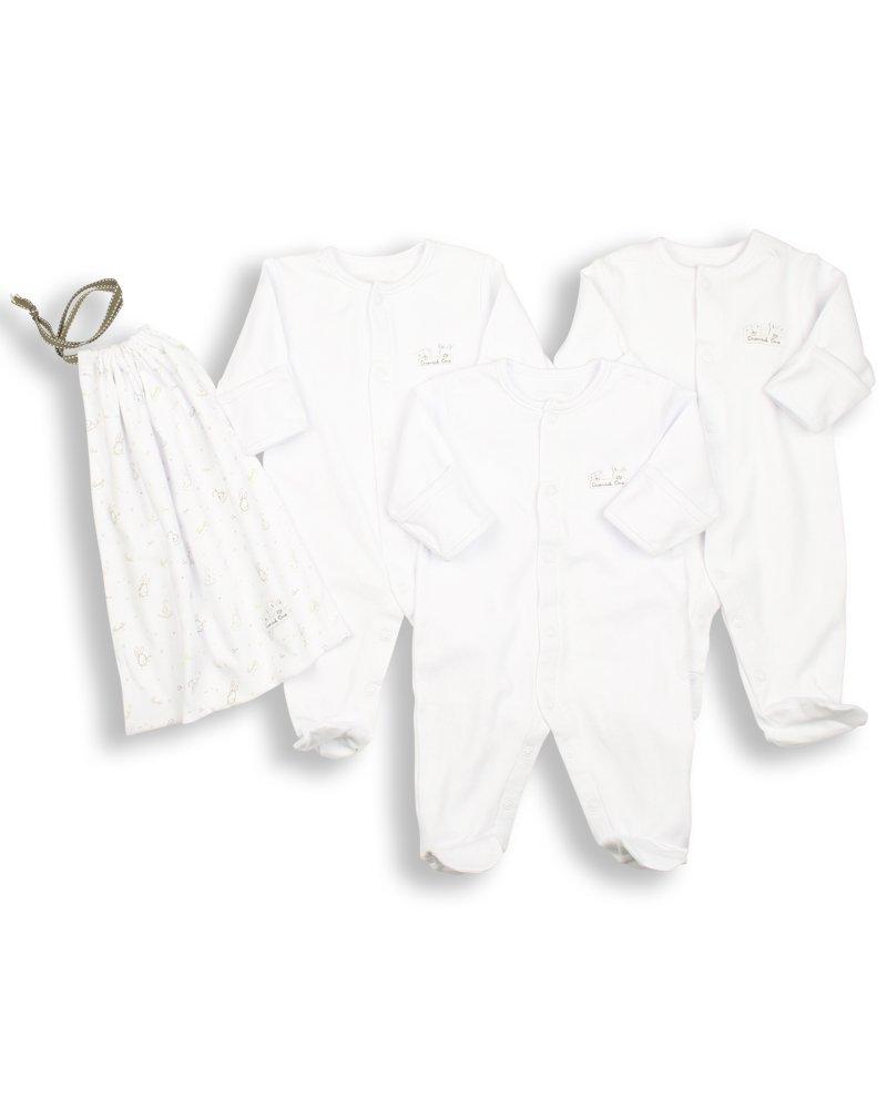 ESS1 - 80//86 Essential One 3-er Pack mit Beutel Schlafanzuge//Schlafanzug//Einteiler//langarmeliger Body//Strampler