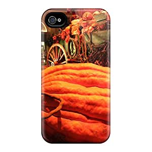 New Style 6 Protective Cases Covers/ Iphone Cases - Thanksgiving Pumpkin