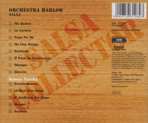Larry Harlow - Orchestra Harlow Salsa [+ 5 Bonus Tracks] - Amazon.com Music