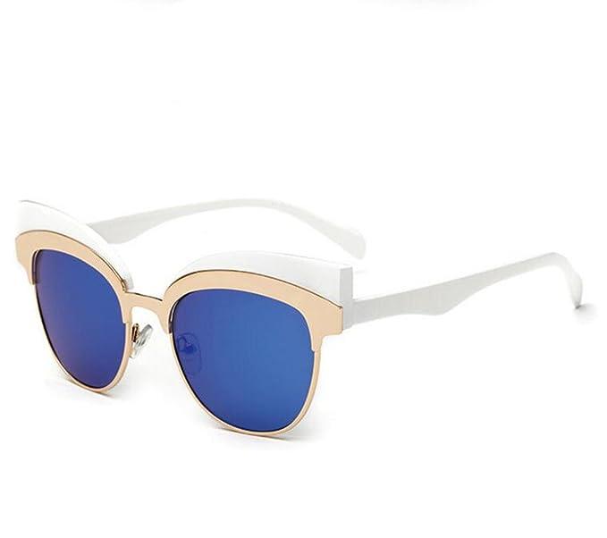 Gafas de sol Cat Cateye Metal Metal Sunglasses: Amazon.es ...
