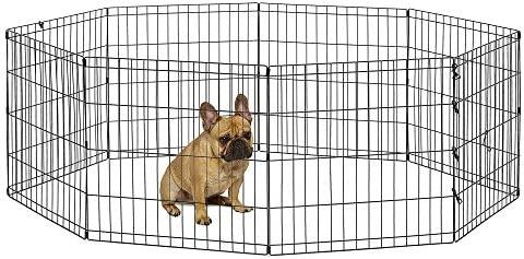 "New World Pet Products B550-24, corralito para mascotas, negro, pequeño / 24 ""x 24"" 2"