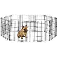 """New World Pet Products B550-24 Foldable Exercise Pet Playpen, Black, Small/24"""" x 24"""""""