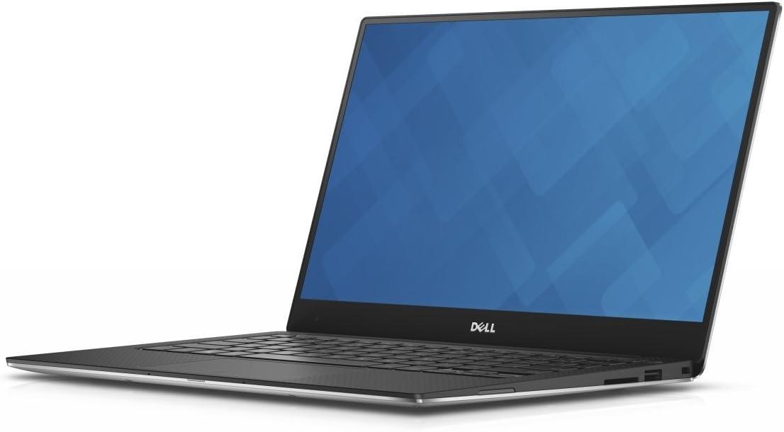 Dell XPS 13-9350 Intel Core i5-6200U X2 2.3GHz 8GB 256GB SSD 13.3 inches, Silver (Renewed)