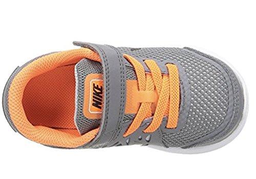 Nike Flex 2016 Rn (Gs) - Entrenamiento y correr Niñas Cool Grey/Black Total Orange