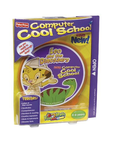 Fun 2 Learn Computer Cool School Software Leo's Dinosaur Adventure by Fisher-Price (Image #3)