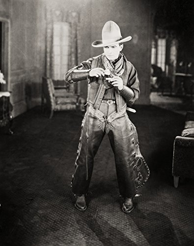 (Posterazzi Still Namerican Actor Richard Barthelmess (1895-1963) Portraying A Cowboy in A Silent Film C1926. Poster Print by (18 x 24))