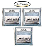 Pack of 3 - Pellon Homegoods Decorative Pillow Insert 16'' x 16''