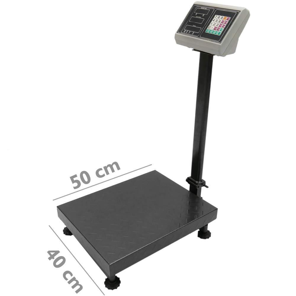 PrimeMatik - Balance Industrielle avec la Plate-Forme 40x50 cm 300 Kg PrimeMatik.com
