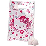8 x Girls HELLO KITTY PLASTIC PARTY BAGS