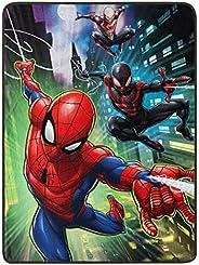 "Marvel's Spider-Man, ""Swing City"" Micro Raschel Throw Blanket, 46"""