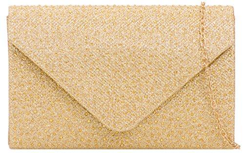 Clutch Gemstones Handbags Bag Champagne Girly aXz0xEwx