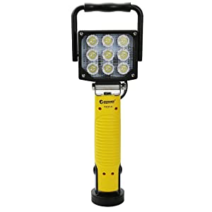 GOODGOODS LED 充電式 投光器 27W 2970LM ポータブル 作業灯 マグネットスタンド付き 角度調節可能 LEDライト【一年保証】 YC27-9