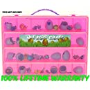 Hatchimals Colleggtibles Storage Organizer - My Egg Crate - Durable Carrying Case For Mini Eggs, Easter Eggs & Speckled Eggs - By Life Made Better- Pink
