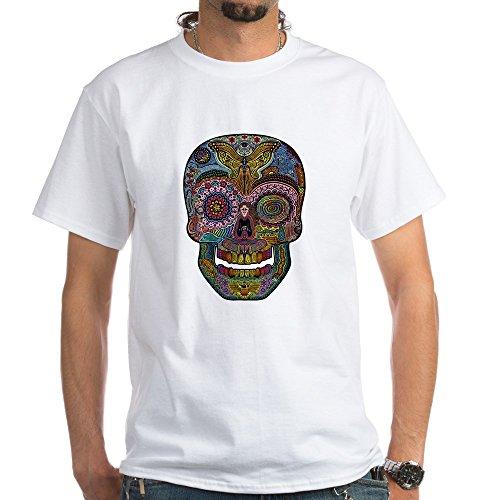 (CafePress DOD Sk511-col White T-Shirt - 100% Cotton T-Shirt, White)