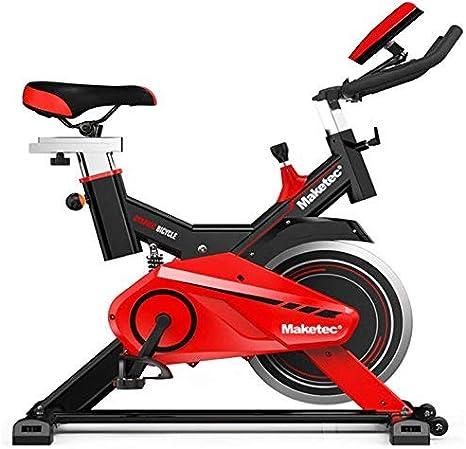 Maketec Bicicleta Spinning Volante de inercia de 24 Kilos: Amazon ...