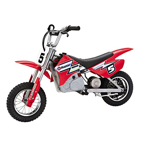 Razor MX350 Dirt Rocket Electric Motocross Bike (Red) Red Dirt Bike