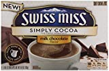 swiss miss dark hot chocolate - Swiss Miss Simply Cocoa Dark Chocolate Hot Cocoa Mix, 8 Count 6.8 oz