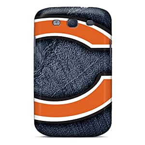 SherriFakhry Samsung Galaxy S3 Anti-Scratch Cell-phone Hard Cover Customized Realistic Chicago Bears Skin [aKr4314ibov]