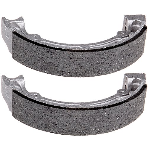 (SCITOO High Performance Brake Shoes Fit 85-88 Kawasaki Bayou 185 KLF185A,88-02 Kawasaki Bayou 220 KLF220A,03-10 Kawasaki Bayou 250 KLF250A,97-04 Kawasaki Bayou 300 KLF300B)