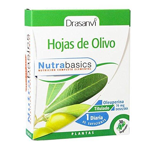 Drasanvi - HOJA DE OLIVO NUTRABASICS - 30 CAPS. 350 MGS. DRASANVI: Amazon.es: Salud y cuidado personal